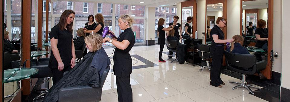 hairdressing training gallery On e ex hair salon academy